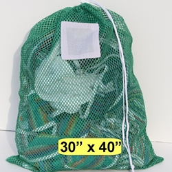 Green Mesh Laundry Bag