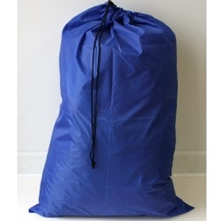 "Royal blue 24""x 36"" polyester laundry bag"