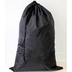 Laundry Bag Polyester Black