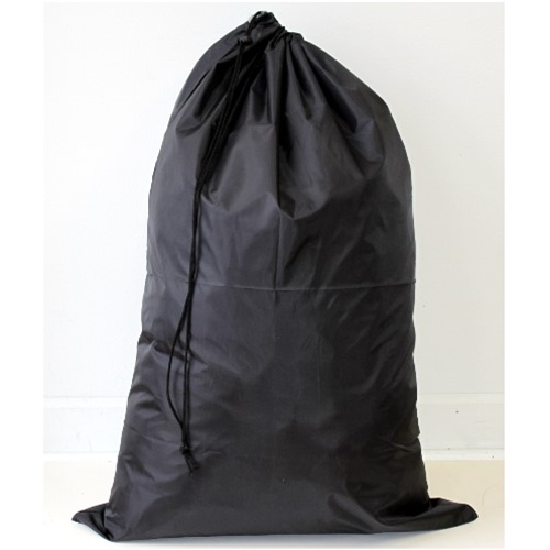 "Black 24"" x 36"" Polyester Laundry Bag (each)"