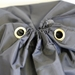 "Black Laundry Bag 22"" x 28"" with Grommet (each)"