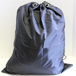 "Premium Black Laundry Bag 22"" x 28"" with Grommet (each) - 420 Denier"