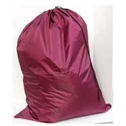 Burgundy Heavy Duty Polyester Bag 30x40
