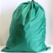 Green Heavy Duty Polyester Bag 22x28 with 2 grommets