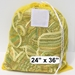 "Yellow Mesh Net Draw String Laundry Bags 24"" x 36"""