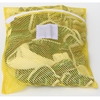 "Zipper Yellow Mesh Net Laundry Bags 18"" x 24"""