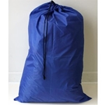 "Non-Washable Polyester Bag 24"" x 36"" - SALE Red or Blue"